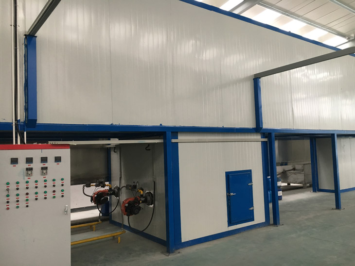 Industrial Powder Coating Oven