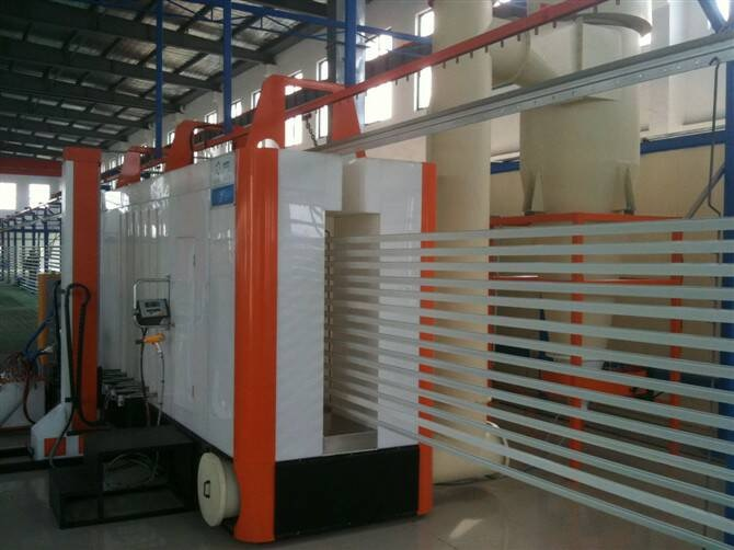 Aluminium-Extrusion-Powder-Coating