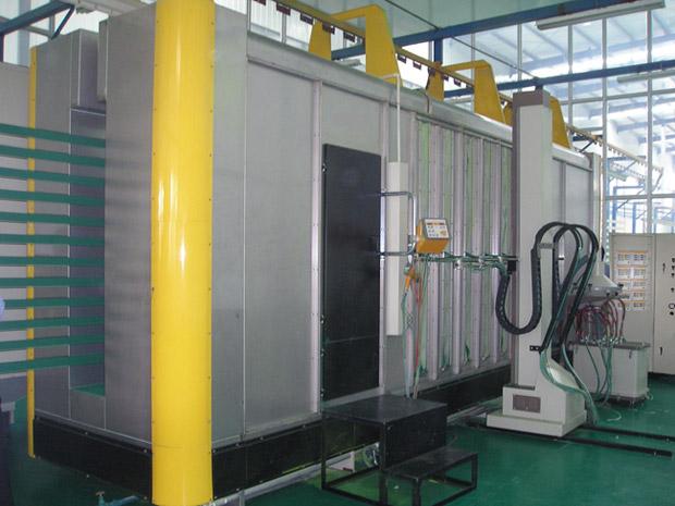 Best Aluminium Powder Coating Machine