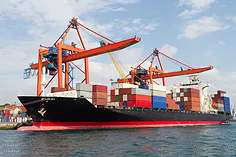 Shipment To The Container Ports