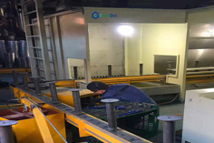 Alloy Wheel Processing Floor Conveyor Systems